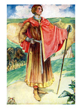Man&#39;s Costume in Reign of Henry II (1154 -1189) Giclee Print by Dion Clayton Calthrop
