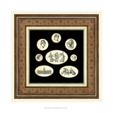 Classic Cameos I Giclee Print by  Vision Studio