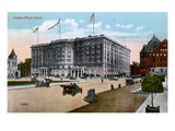 Boston: Copley-Plaza Hotel Giclee Print