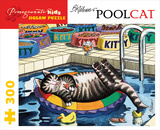 Kliban/Pool Cat 300 Piece Puzzle Jigsaw Puzzle