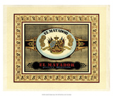 Crackled El Matador Cigars Giclee Print