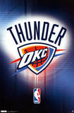 Oklahoma City Thunder Logo Prints