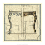 Furniture Sketch II Giclee Print by Vision Studio