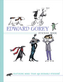 Edward Gorey Sticker Book Book