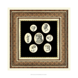 Classic Cameos II Giclee Print by  Vision Studio