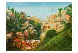 Cinque Terre Art by Chris Vest