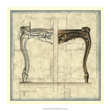 Furniture Sketch I Giclee Print by  Vision Studio