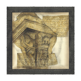 Antique Capitals I Prints by Jennifer Goldberger
