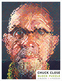 Chuck Close Block Puzzle Jigsaw Puzzle