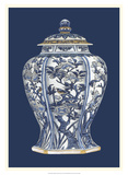 Blue &amp; White Porcelain Vase I Poster