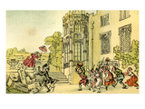 Dr Syntax and the Bees Giclee Print by Thomas Rowlandson
