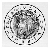 Ulrich von Hutten, Giclee Print