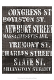 Streets of Boston I Posters by Andrea James