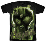 The Avengers - Hulk Fist Shirts