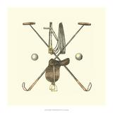 Polo Saddle Giclee Print