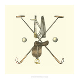 Polo Saddle Giclee Print by  Vision Studio