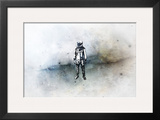 The Voyager Framed Giclee Print by Alex Cherry