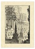 Vintage Roman Ruins III Giclee Print by Giovanni Piranesi
