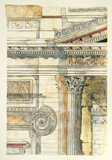 Classical Architecture II Lámina giclée