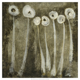 White Flowers Abstract I Prints by Elena Ray