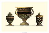 Urn Triad IV Giclee Print by Giovanni Giardini