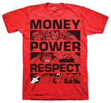 Marvel  - Money Power Respect T-shirts