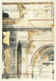 Classical Architecture I Giclee Print by  Vision Studio