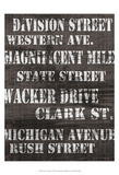 Streets of Chicago I Posters by Andrea James