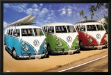 VW CAMPERS Poster