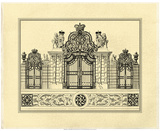 Crackled Grand Garden Gate I Posters by O. Kleiner