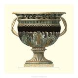 Crackled Large Giardini Urn II Giclee Print by Giovanni Giardini