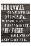Streets of New York I Plakater av Andrea James