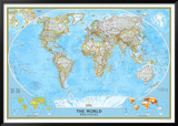 World Political Map Photo