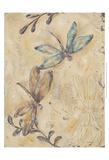 Fluttering Dragonflies Print by Jade Reynolds
