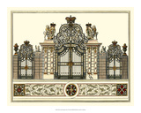 The Grand Garden Gate I Giclee Print by O. Kleiner