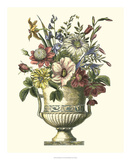 Floral Splendor I Poster by Giovanni Piranesi