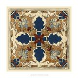 Vintage Woodblock VI Giclee Print by Chariklia Zarris