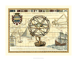 Nautical Map I Prints by Deborah Bookman