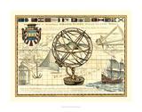 Nautical Map I Prints by Deborah Bookman