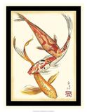 Koi Fish II Giclee Print by Chariklia Zarris