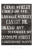 Streets of Chicago II Posters av Andrea James