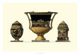 Urn Triad III Giclee Print by Giovanni Giardini