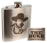 John Wayne 6oz. Stainless Steel Flask Flask