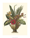 Tropical Foliage in Urn I Giclee Print