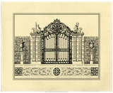 Crackled Grand Garden Gate II Prints by O. Kleiner