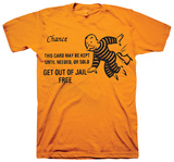 Monopoly - Get Out Of Jail Free Shirt