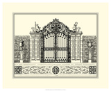 Grand Garden Gate II Prints by O. Kleiner