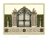 The Grand Garden Gate II Giclee Print by O. Kleiner