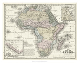 Mitchell's Map of Africa Prints