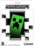Minecraft- Creeper Inside Sticker Stickers